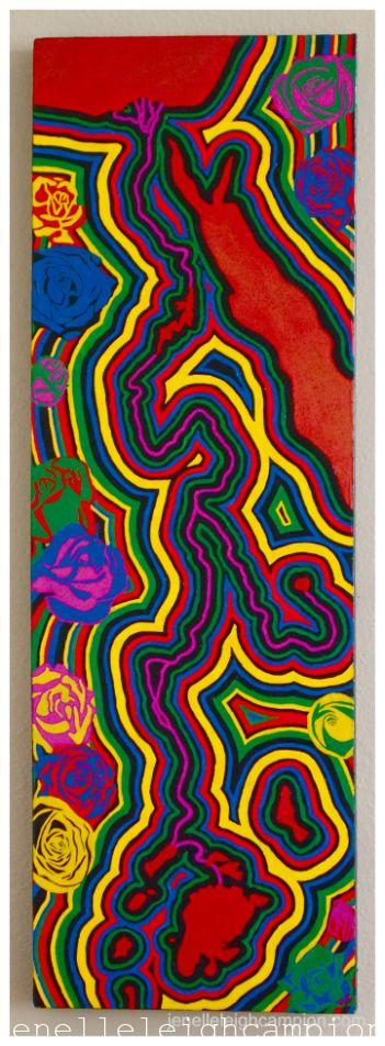 Nile River (River) on Acrylic on Canvas by New Orleans Jackson Square Artist, Jenelle Leigh Campion MFA @jenelleleighc